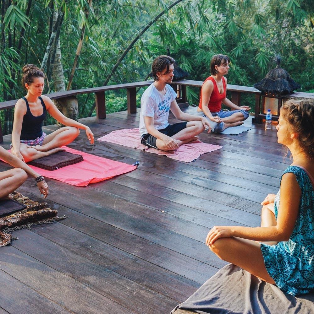 майндфулнес медитация лена ридель